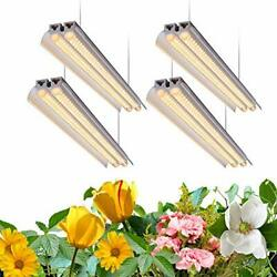 T5 Led Grow Light, 4ft Full Spectrum Sunlight Replacement With Warm White