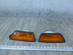 1983 Honda Gl650 Silverwing H177-1 Front Turn Signals Blinkers Set Works