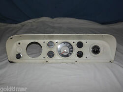 Vintage Car Truck 1970 Ford Instrument Panel C8tf-10848