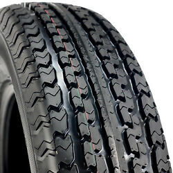 6 Tires Mastertrack Un-203 Steel Belted St 235/80r16 Load E 10 Ply Trailer