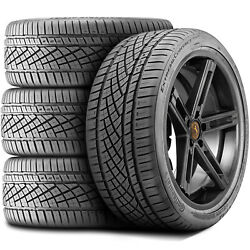 4 Tires Continental Extremecontact Dws 06 255/55r18 109w Xl A/s High Performance