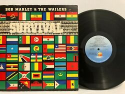 Bob Marley And The Wailers - Survival Lp Island W/ Insert