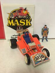 Mask Firefly Dune Buggy Rocket Glider Julio Lopez Race Car 1985 Kenner Used
