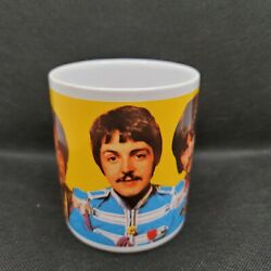 Collectible Beatles 2007 Vandor Mug Coffee Cup Apple Corps Sergeant Peppers