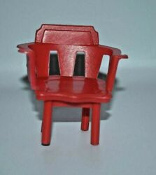 Vintage Evel Knievel Red Arm Chair From Scramble Van Set