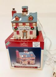 Lemax Harvest Crossing Porcelain Lighted House Black Crow Antiques Christmas
