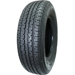 6 Tires Maxxis St Radial M8008 St 235/80r16 Load E 10 Ply Trailer