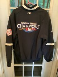 Ny Yankees 2009 World Series Champions Xxl Majestic Authentic Collection Jacket