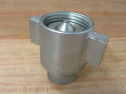 Snap-tite 75c24 Wing Nut Coupler 1-1/2
