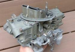 Oem Gm Holley Carburetor List 3613 1966 Chevelle Ss 396 375hp L78 Dated 641 Rare
