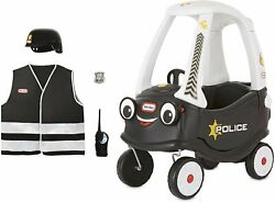 Little Tikes Police Cozy Coupe Themed Role Play Ride-on Toy Multicolor