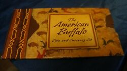 2001 Commemorative The American Buffalo Coin And Currency Set