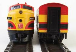 Ho Scale - Walthers Mainline 910-19952 Kansas City Southern F7a And B Dcc And Sound