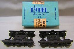 Roundhouse Ho Scale Die Cast Pullman 6 Wheel Trucks New In Box