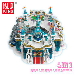 Mould King Dream Great Castle Snow Paradise Crystal Palace Building Block Toy