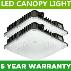 Led Canopy Light 45w 70w White 5500k White Parking Garage Security Area Lights