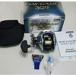 For For Shimano Bay Game 301f Reels Left-handed Are Great Deal
