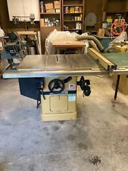 Powermatic Table Saw Model 66 1 Phase 3 Hp 230 Volt