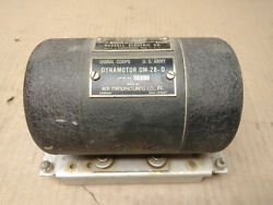 Vintage Wwii Signal Corps Dynamotor Dm-28-o By Rca For Bc348 Radio