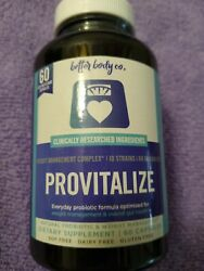 Better Body Co. Provitalize Best Natural Weight Management Probiotic 60 Capsules