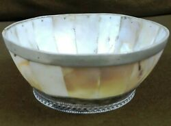Indo Portuguese Mother Of Pearl Bowl Bowl