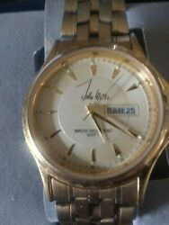john weitz watch vintage from the 70#x27;s