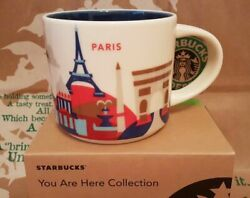 Starbucks Paris Mug You Are Here France Yah New In Box Free Us Shipping