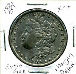 1889 O Xf Morgan Dollar 100 Cent Extra Fine 90 Nice Old Silver Us1 Coin 1395