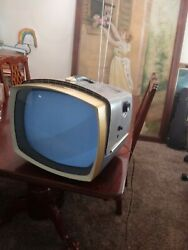 Working Vintage Rca Victor Deluxe Console Television Tv 17 17-pd-9079