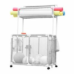 Pool Noodles Holder, Toys, Floats, Balls And Floats Equipment Mesh Rolling Doub