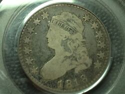 1818 Pcgs Vg-8 Capped Bust Quarter  Nice Coin