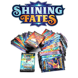 Shining Fates Trading Cards Collection English Game 9 Cards Pack Kids Adult Play