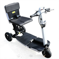 3wheel Folding Electric Mobility Scooter 48v Motor 3 Speed Riding Mode+led Light