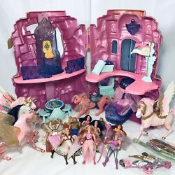 She-ra 1984 Vintage Toys Castle Playset Clear Swift Wind Horses Dolls Collection