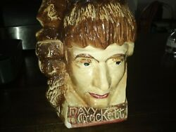 Davy Crockett Cookie Jar From The 1950s And It Was Used As A Prop In Movie
