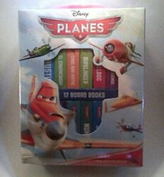 Disney Planes 12 Board Books Library With Carry Handle By Disney Book The Fast