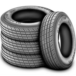 6 Tires Gladiator Qr25-ts St 235/85r16 Load F 12 Ply Trailer