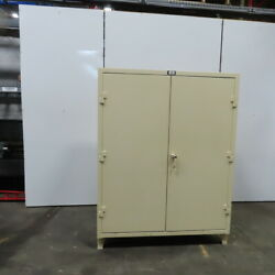 Strong Hold 7 Shelf Industrial Tool Parts Storage Cabinet 60x24x78