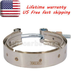 Exhaust Outlet V-band Clamp 3903652 For 1989-02 Dodge Ram 2500 3500 5.9l 6bt Usa