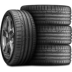 4 Tires Continental Extremecontact Sport 275/35zr20 102y Xl High Performance