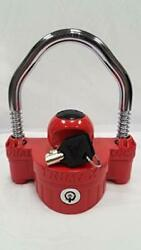 Trimax Deluxe Universal Die Cast Narrow Body Coupler And U-lock 1/2in Dia.