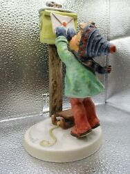 Hummel Goebel Letter To Santa 340 Tmk 6 Hand Painted Made In Germany
