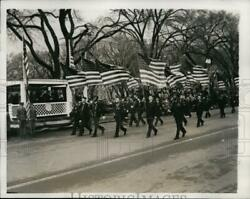 1941 Press Photo Dc Army Day Parade Led By Majorette Janet Haggarty - Nem38063