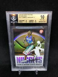 Carmelo Anthony Topps Pristine Refractor Rookie /1999 Bgs 10 Lakers