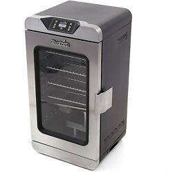 Char-broil 17202004 Digital Electric Smoker, Deluxe, Silver16.5 X 18.1 X 32.5 In