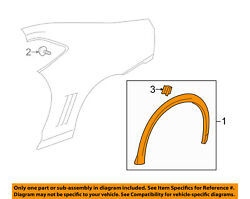Chevrolet Gm Oem Camaro Ext-wheel Well Fender Flare Arch Molding Right 23240650