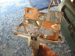 1968 1969 Ford Torino And Ranchero Chrome Lower Hood Latch And Rod Gt 428 390