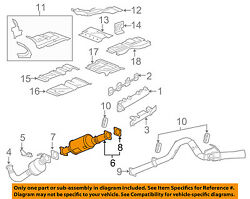 Gm Oem Exhaust System-filter 22794611