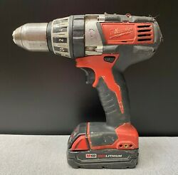Milwaukee M18 Compact 1/2 Drill Driver 2602-20 W/ Battery M19