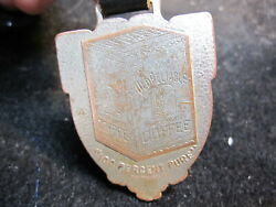 Antique Old Reliable Coffee Advertising Pocket Watch Fob Original